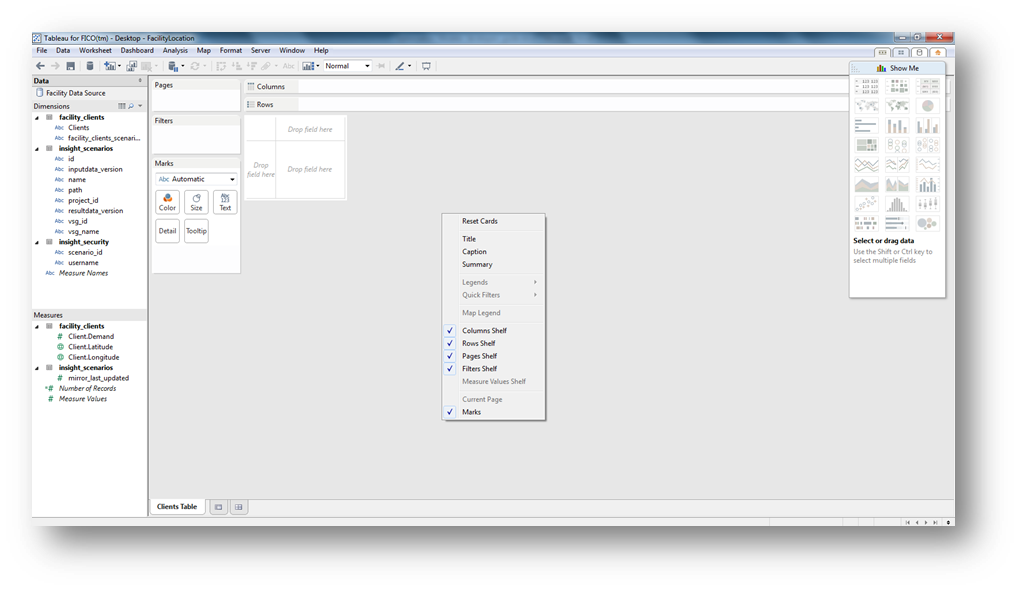 Creating A Simple View With Tableau Desktop