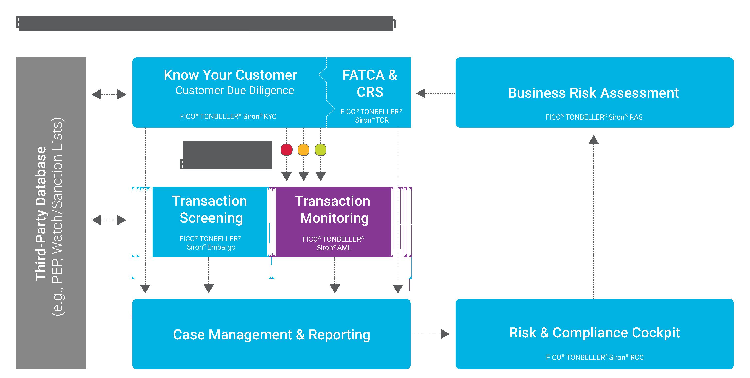 Anti-Money Laundering (AML) & Transaction Monitoring with Siron