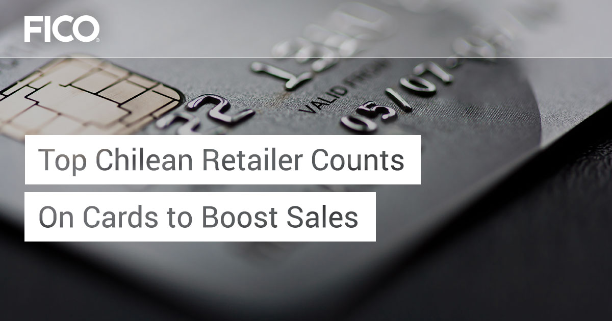 Top Chilean retailer counts on cards to boost sales