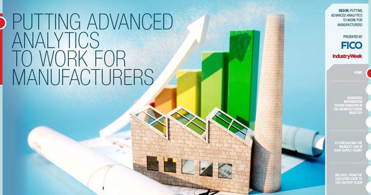 Vorteilhafter Einsatz von Advanced Analytics zum Nutzen von Herstellern