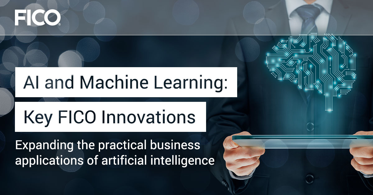 AI and Machine Learning: Key FICO Innovations