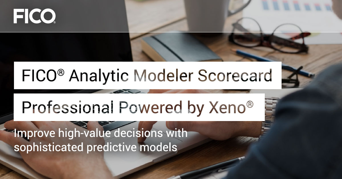 FICO® Analytic Modeler Scorecard Professional Powered by Xeno®