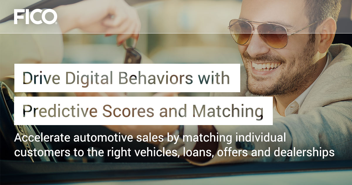 Drive Digital Behaviors with Predictive Scores and Matching