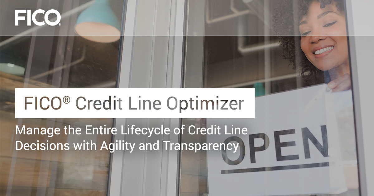 FICO® Credit Line Optimizer