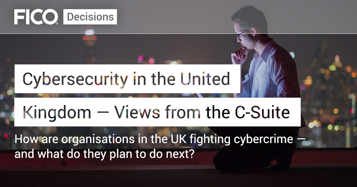 Cybersecurity in the United Kingdom — Views from the C-Suite