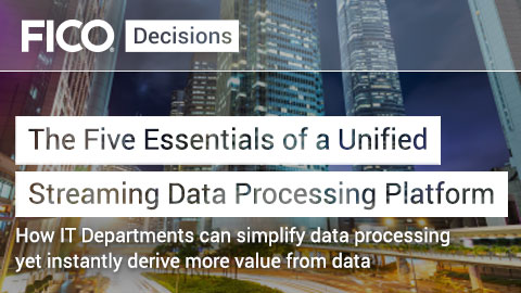 The Five Essentials of a Unified Streaming Data Processing Platform