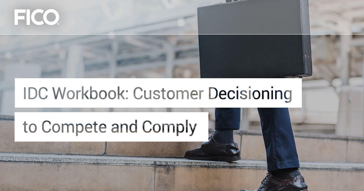 Customer Decisioning to Compete and Comply