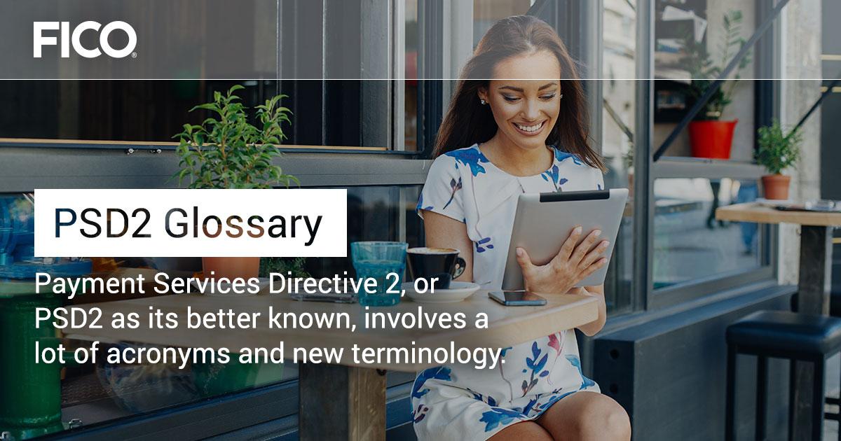 PSD2 Glossary