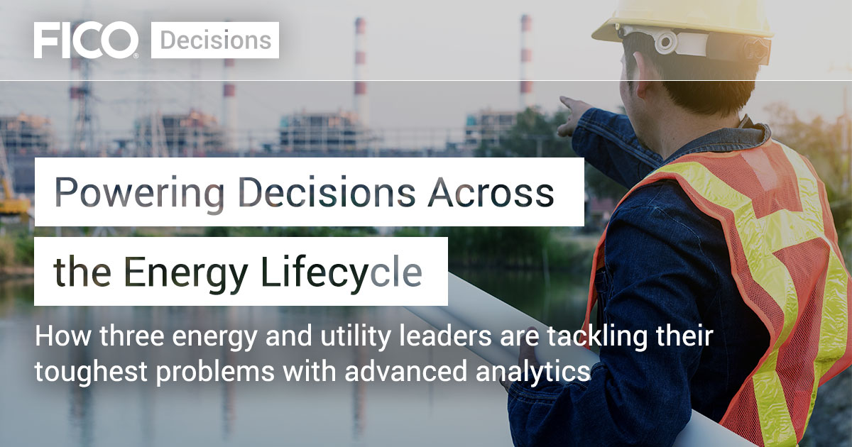 Powering Decisions Across the Energy Lifecycle