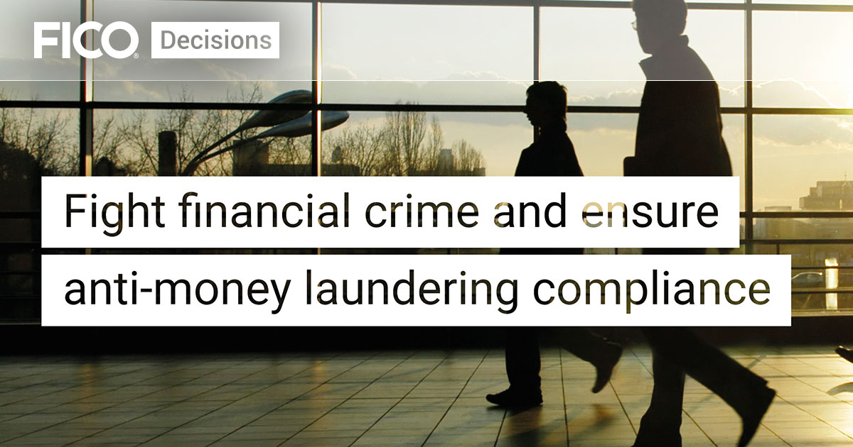 Fight Financial Crime & Ensure AML Compliance Solution Sheet