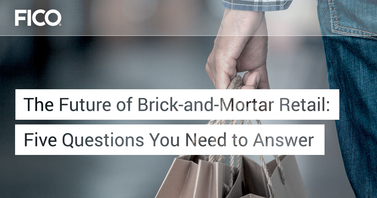 The Future of Brick-and-Mortar Retail: Five Questions You Need to Answer