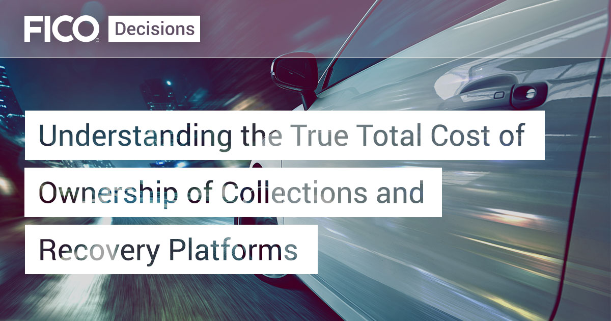 Understanding the True Total Cost of Ownership of Collections and Recovery Platforms
