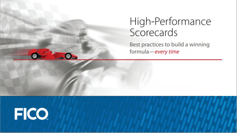 eBook: High-Performance Analytic Scorecards