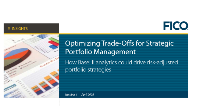 Insights—Optimizing Trade-Offs for Strategic Portfolio Management