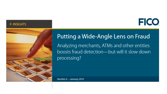 Insights—Putting a Wide-Angle Lens on Fraud