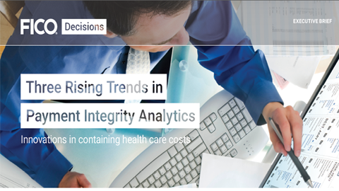 Three Rising Trends in Payment Integrity Analytics Executive Brief