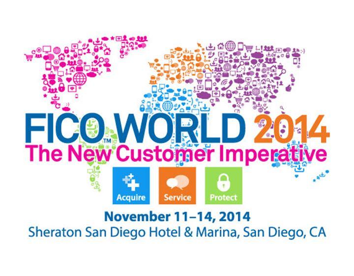 FICO World 2014 logo