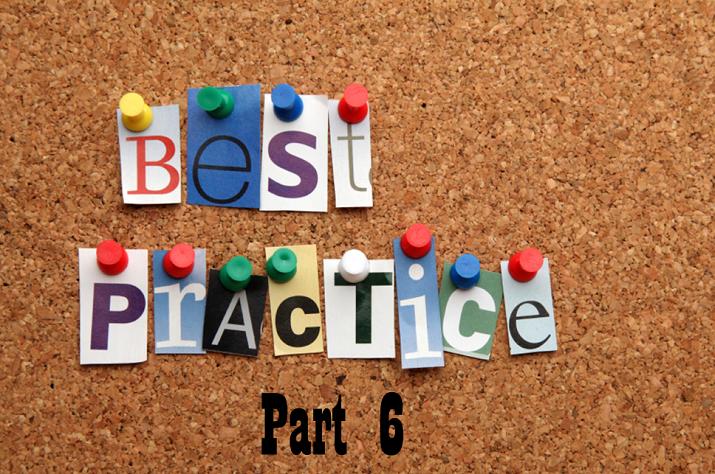 Best Practice Push Pins Part 6