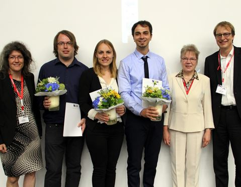 Timo Berthold and other winners at the GOR ceremony