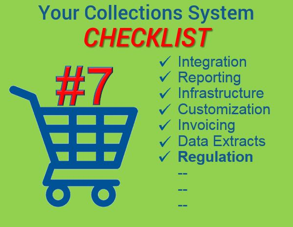 Collections system checklist image