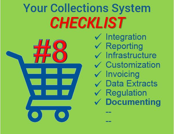 Collections checklist