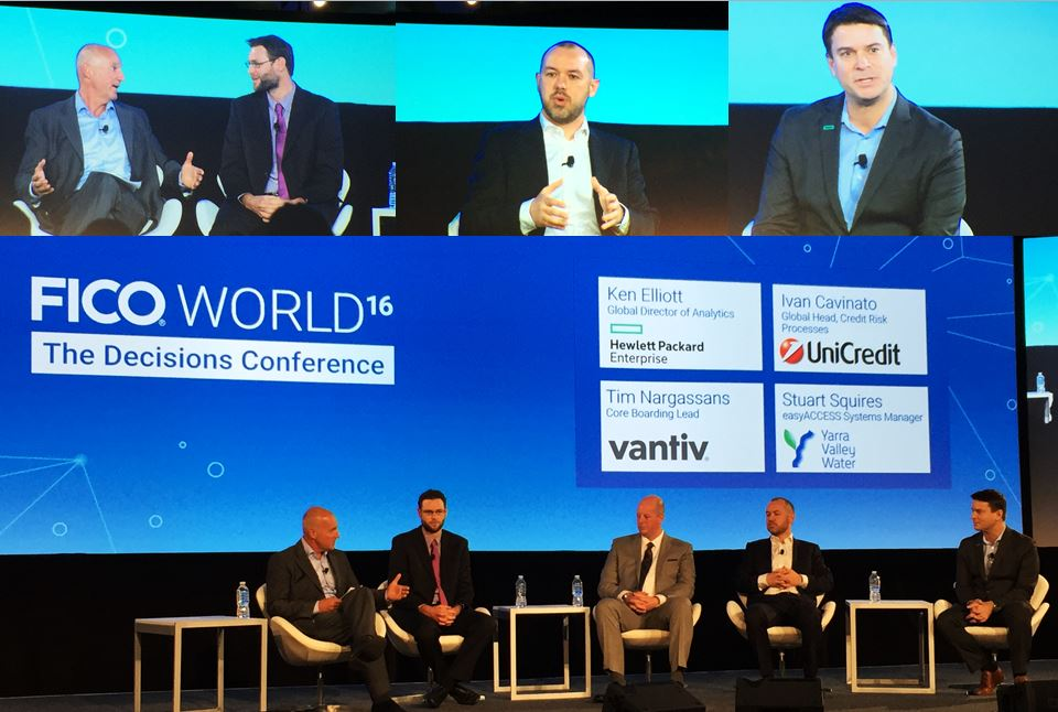 Customers talk about decision management at FICO World 2016