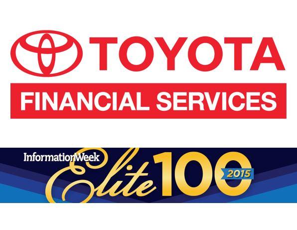 Toyota and InformationWeek logos