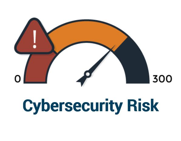 Meter for cybersecurity risk