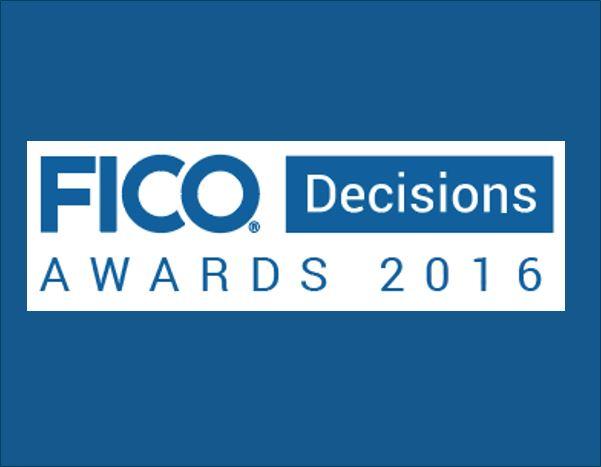 FICO Decisions Awards logo
