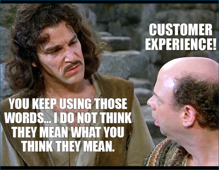 Customer experience hard to explain