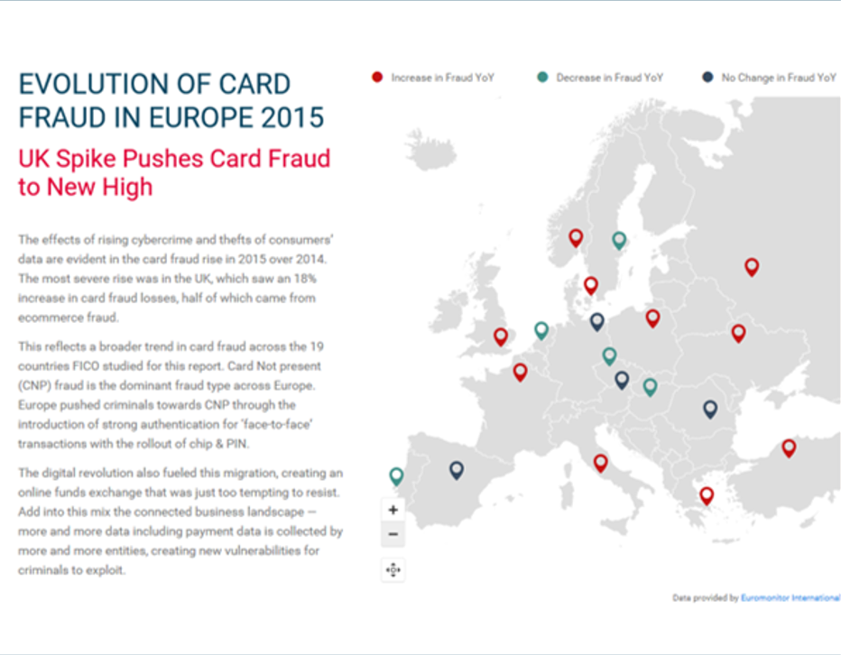 European Fraud Map 2 European Fraud Trends Point to Online Payments Risk