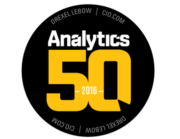 Analytics 50 award