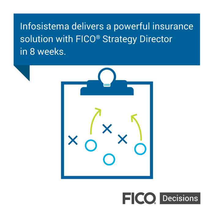 Infosistema insurance Strategy Director graphic Fast, Personalized Insurance Decisioning: Q&A with Infosistema