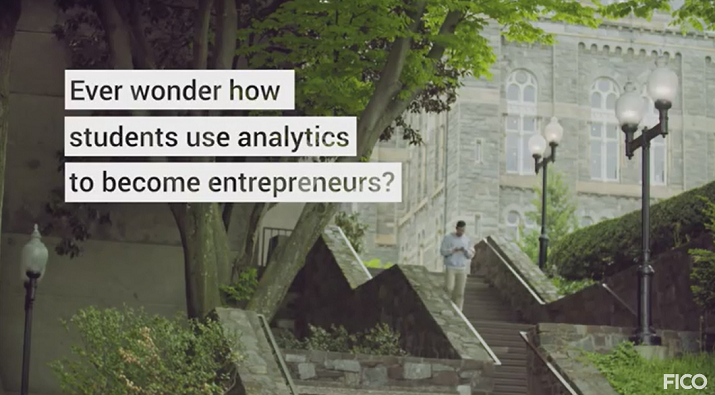 Analytics at Georgetown Video: Analytics Spur the Entrepreneurial Spirit at Georgetown