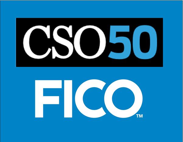 CSO50 FICO Receives 2017 CSO50 Award from IDG's CSO