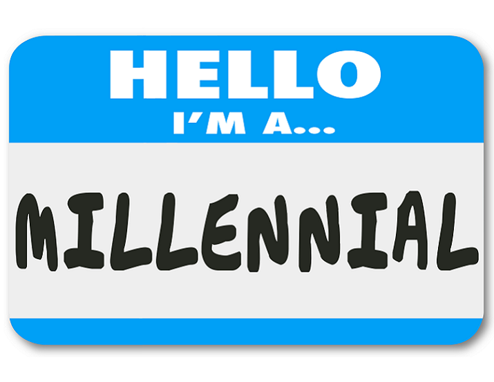 Millenials and Credit - I'm a Millennial Nametag