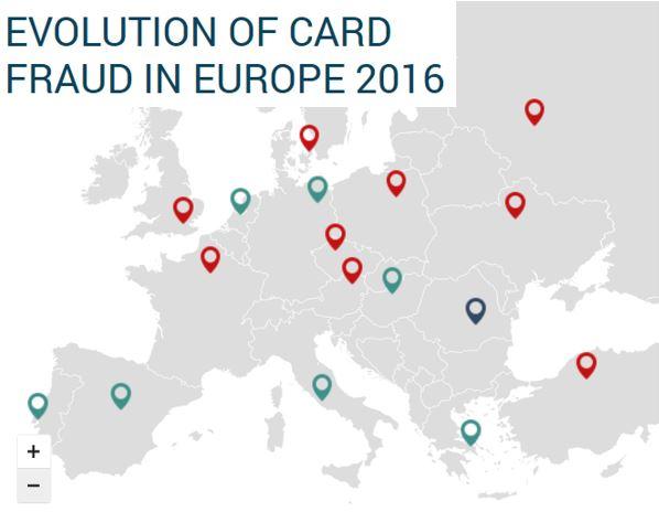 European Fraud Map