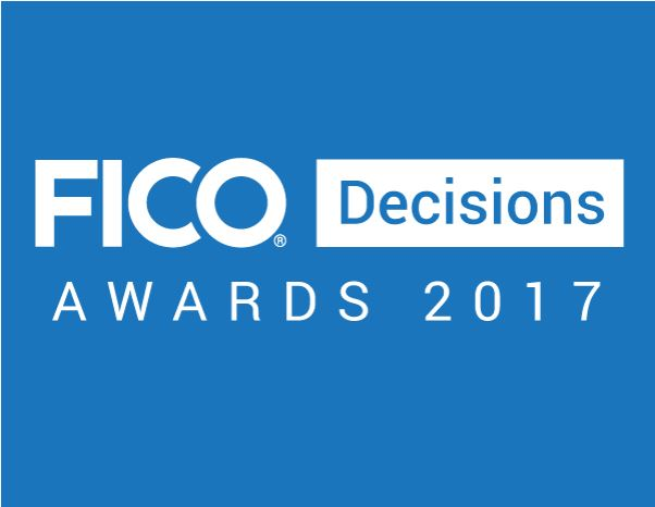 FICO Decisions Awards logo