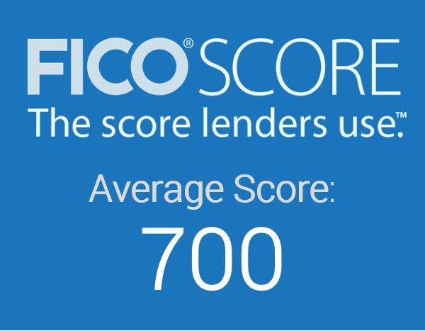 us average fico score hits 700