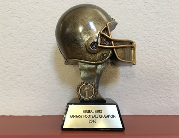 Fantasy football award