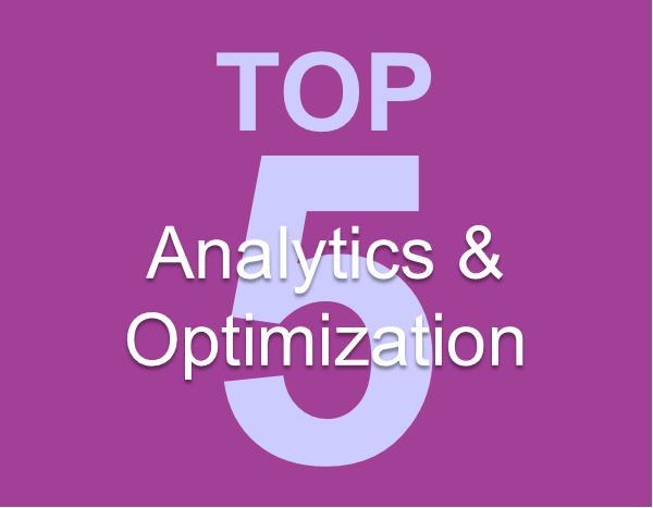 Words - Top 5 Analytics & Optimization