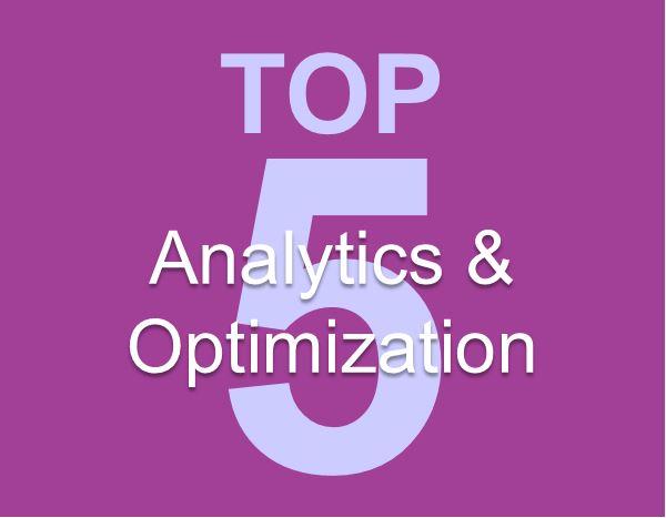 Words - Top 5 Analytics & Optimization