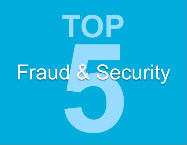 Words Top 5 Fraud & Security