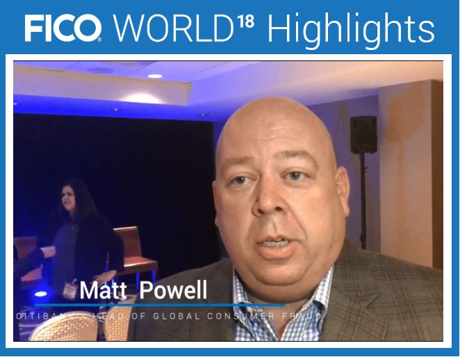 Matt Powell at FICO World