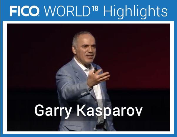Garry Kasparov AI FICO World Garry Kasparov on AI – Should Smart Machines Scare Us?