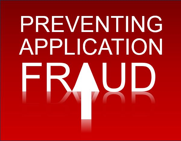 Words: Preventing Application Fraud