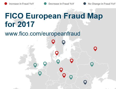 Screenshot of fraud map