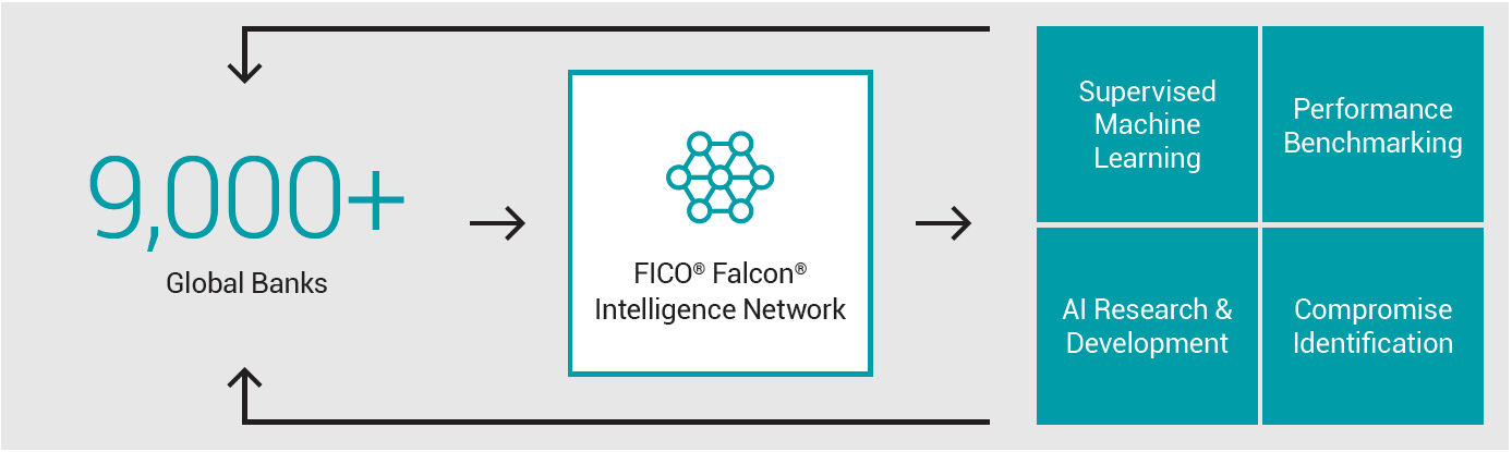 Diagram of Falcon Intelligence Network