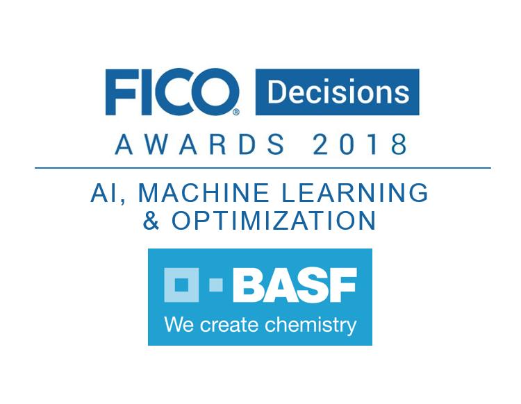 BASF Optimization Award Supply Chain Optimization: BASF Solves a Major Challenge