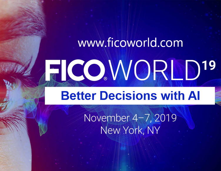FICO World 2019 AI Digital Transformation Explore AI and Digital Transformation at FICO World 2019